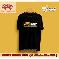 Kaos T shirt Distro RCB x ROB1 Baju Motor Kaos Balap Kaos Racing Keren - Maroon, S