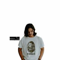 Shirt A Bathing Ape x Mastermind original 2nd. Warna putih. Size L
