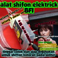 SHIFFON ELECTRICK BFI ALAT SEDOT KOTORAN ,KURAS SOLITER ,ISI SOLITER
