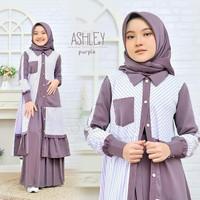 Baju Gamis Anak Perempuan Tanggung Baju Muslim Anak Terbaru Gamis Ana