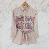 Atasan Batik 83 Baju Blus Bluse Kerja wanita Moden