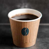 Americano - Black Coffee - Kopi Hitam 12 oz Cup by BLEUM Coffee