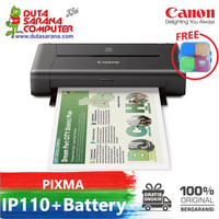 CANON IP110 WITH BATTERY PRINTER PORTABLE MURAH IP 110