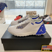Sepatu Golf Jordan ADG 2 Blue 100% Original CT7812-101 - 41