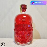 Absinthe Red Chili Skull Botol Tengkorak Merah Antitoxin Head Absinte
