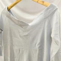Pakaian Wanita Baju Atasan Biru Muda A231