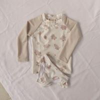 Summertide x Friends of Sally -Girls Rash Guard Set - baju renang anak - 1-2 tahun