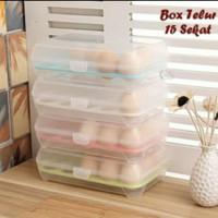 Tempat Box Telur 15 Lubang / Kotak Telur Sekat 15 Lubang