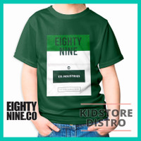 Baju / Kaos Distro Anak Laki-Laki / Motif Eighty Nine / Eighty Nine