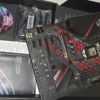 Asus Rog strix B360 H LGA 1151 Intel gen8 gen 9 bukan 8700k Z390 B365