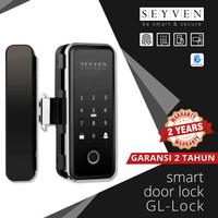SEYVEN Smart Door Lock Kaca Frameless / Glass Door APP TTLOCK - KAYU