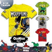 Baju Kaos Oshkosh Premium Anak Laki Laki Cowok