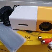 Proyektor Mini YG300 YG 300 YG-300 Projector Portable - Yellow White