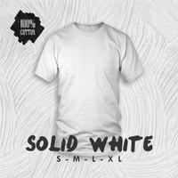 Kaos Distro T-Shirt Pria Wanita Kaos Distro Tulisan Jancok Kon - Putih, S