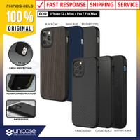 Case iPhone 12 Pro Max 12 Mini RhinoShield SolidSuit Shockproof Casing - 12 or 12 Pro, Classic Black