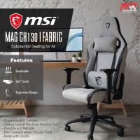 MSI MAG CH130I FABRIC (GRAY) GAMING CHAIR - KURSI GAMING