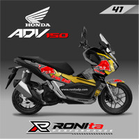 Decal Honda ADV 150 Full Body Paling Murah di RONIta Seri 3 - DESAIN-41