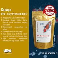 Clay Premium - Penjernih Kolam Koi + Bakteri Probiotik Starter *PROMO*