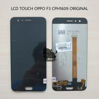 LCD TOUCHSCREEN 1SET OPPO F3 CPH1609 ORIGINAL