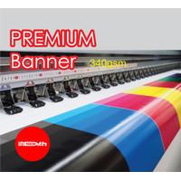 Cetak Print Banner Spanduk Baliho MMT Flexy Premium Banner 340gsm 1m2