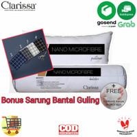 Paket Bantal Guling Nano Microfiber Bulu Angsa Sintetis Paket Clarissa