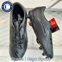 SEPATU BOLA SPECS SWERVO HYDRA PRO FG - TRIPLE BLACK ORIGINAL