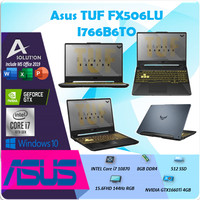 Asus TUF FX506LU I766B6TO i7 10870 8GB 512ssd GTX1660Ti 4GB 15.6 144Hz
