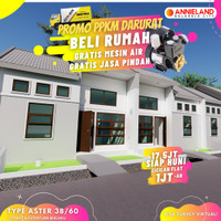 Booking Fee Tipe Aster Blok Q3A-2 Annieland Balaraja Cisoka