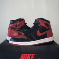Nike Air Jordan 1 High Bred Banned 2016 Kick Avenue Pair Fullset - 41