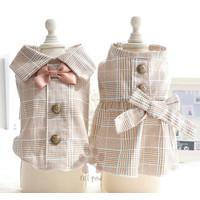 Petpaw Baju Anjing Kucing Tuxedo Couple Top and Dress Premium Import