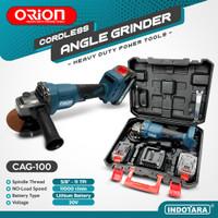 Mesin Gerinda Baterai Tangan / Cordless Angle Grinder Orion CAG-100