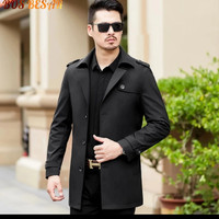Jaket semi Jas pria terbaru / Jubah panjang long Coat / blazer pria