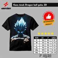 Baju Kaos Anak Dragon Ball Goku 3D