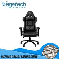 MSI MAG CH120 I GAMING CHAIR BLACK / KURSI KERJA