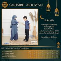 Baju Kondangan RAYYAN Couple Pasangan Keluarga Muslim Ayah Ibu Anak - Koko Kid, XS