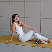 Celana Olahraga Senam Yoga Legging Putih / Setelan Baju Yoga Fitness