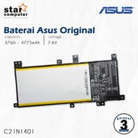 Baterai ASUS X455, X455L, X455LA, X455LD, C21N1401 ORIGINAL