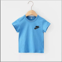Kaos Anak NIKE Baju Oblong Anak Kaos Oblong Anak Cwo/Cwe Usia 2-10th - turkis, S