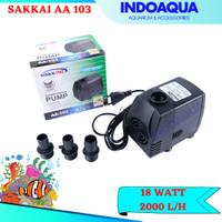 INDOAQUA - Pompa Celup Aquarium For Tank 60-80 cm Sakai Pro AA 103