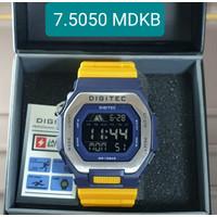 JAM TANGAN DIGITEC 5050 - DIGITEC DG 5050 MDKB DG-5050T
