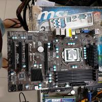 mainboard ASRock z77 pro3 procsesor core i5-3450