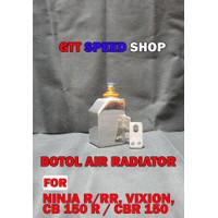 BOTOL TABUNG AIR RADIATOR ALUMINIUM UNTUK NINJA R/ RR, VIXION, CB150 R