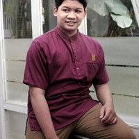 Baju Atasan Kemeja Koko Anak Remaja Tanggung ABG ZHAFRAN