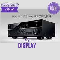 Yamaha AV RECEIVER RXV479,RXV-479 EX DISPLAY BERGARANSI Like new