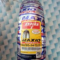Ban motor matic,Ban belakang beat vario 90/90-14,Aspira Maxio SPR38 TL