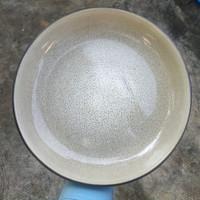 B   Artisan Ceramic   Copper Deep Plate D:20.5 cm