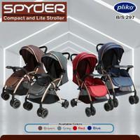 stroller baby Pliko 297 spyder versi baru