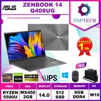 ASUS ZENBOOK 14 Q408UG Ryzen 5 5500U 8GB 512ssd MX450 2GB W10 14.0FHD