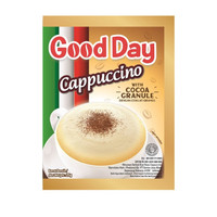 Good Day Cappuccino Renteng (10 Sachet@25 Gram)