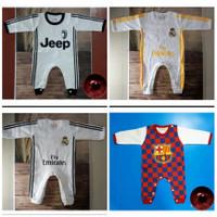 Jumper Panjang Bayi New Born / Baju Kodok Motif Bola